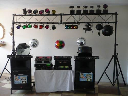 Alquiler de Luces sicodelicas sonido y sonidos.