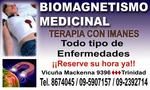 Biomagnetismo magneto terapia médica