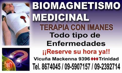 Biomagnetismo medicinal terapia con imanes