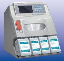 Blood gas analyzer and ELECTROLYTES