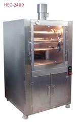 Houtskool Oven Ecologico voor Gegrilde kip