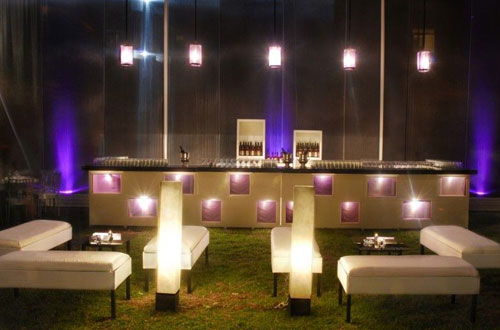 sala longue y open bar
