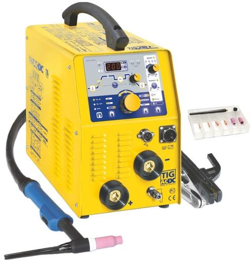 Maquina Soldadora Inversora Tig Pulsado/Mca.GYS Mod.TIG 207AC/DC HF FV