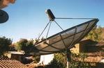 Antena Parabólica de 3.10m malla de aluminio