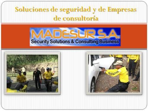 soluciones de seguridad y de Empresas de consultoría