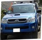 Verhuur vrachtwagen HILUX 4X4 TURBO interculturele Totota