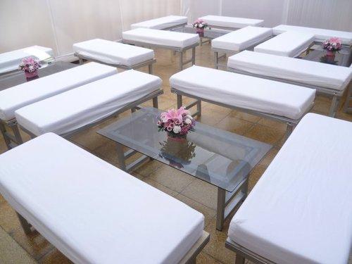Centro de mesa Salitas lounge / Eventos Jorge Blas