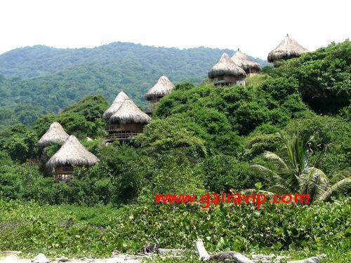 Parque tayrona ecohabs