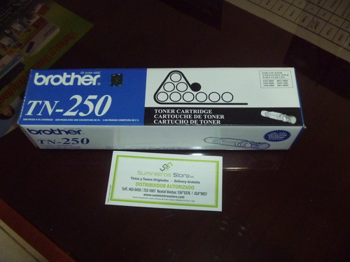 Toner Brother TN-250 original Nuevo - delivery gratuito en Lima