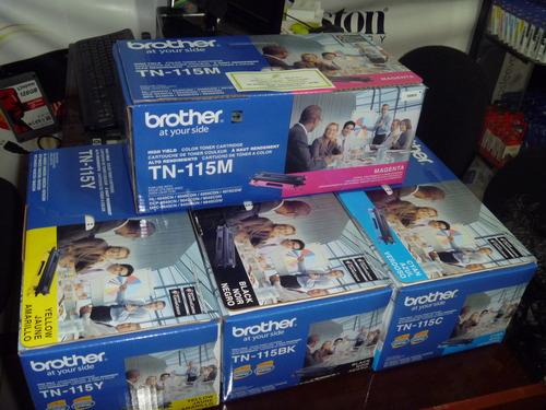 Toner Brother TN-115 Todos los colores DCP-9045CDN