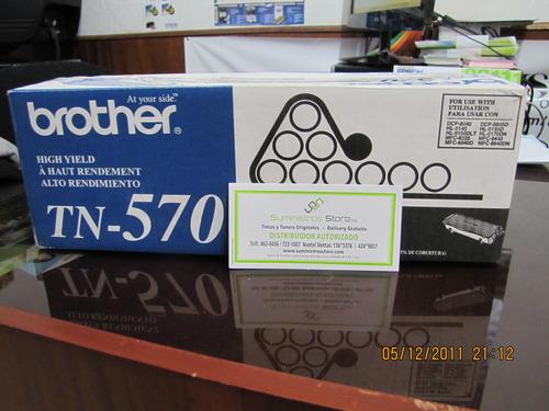 Toner brother TN-570 original Nuevo delivery gratuito en Lima
