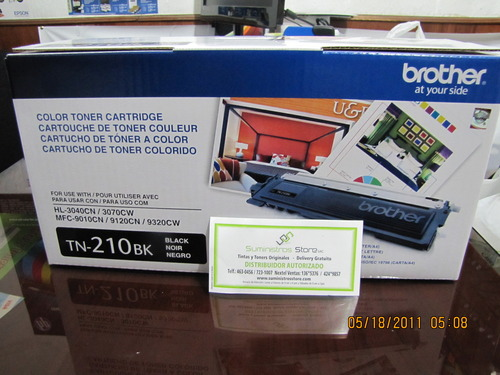 Toner Brother TN-210 negro