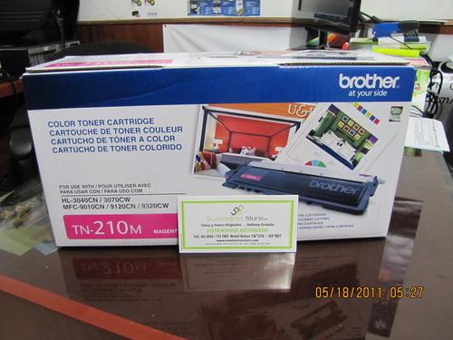 Toner Brother TN-210 magenta original distribuidor autorizado