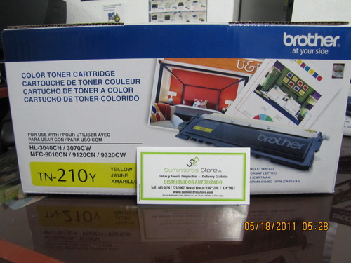 Brother TN-210 Toner Yellow