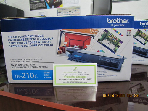 TN-210 Toner Brother original Cyan