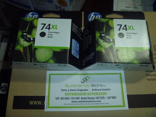 Tinta HP 74XL alta capacidad CB-336W