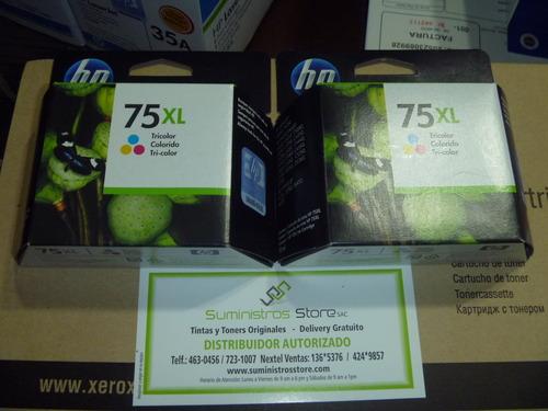 Tinta HP 75XL original alta capacidad CB-338WL