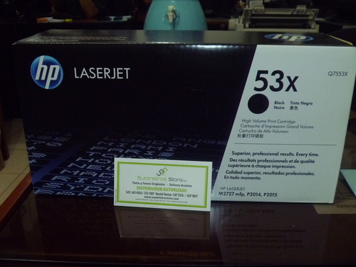 HP Q7553X High Capacity Toner