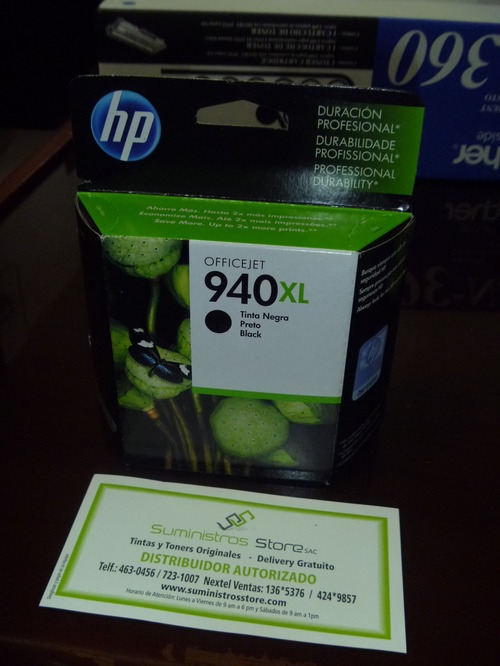 Tinta HP 940XL Negro original