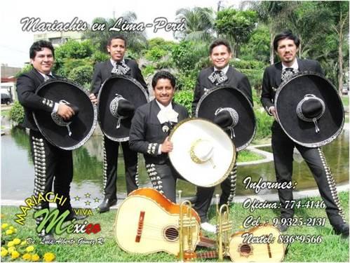 Mariachis Charros Servicios A1 Eventos Telf 774-4146 Cel 99252131