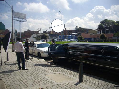 Limousines in Bogota