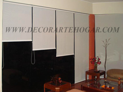 Rollers Screem o Cortinas Enrollables Decorartehogar