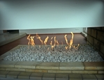 A gas fireplaces F & F