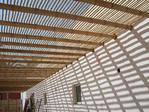 Techo de bambú