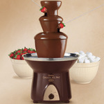 alquiler de fuente de chocolate
