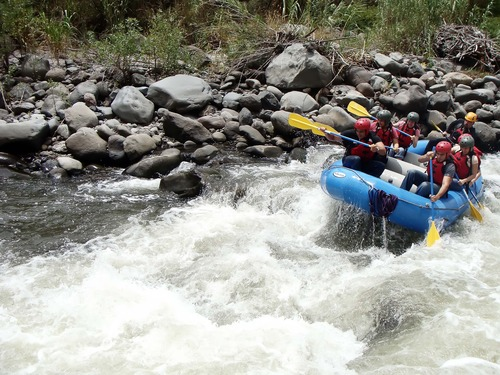 Rafting Rio Mira.