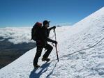 Climbing Cotopaxi