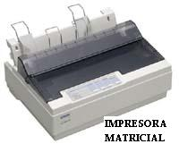 Impresora matricial o de matriz de puntoz