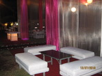 Lounge and AWNING IN ORGANZA