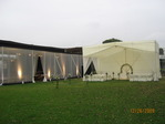 AWNING IN ORGANZA AND CHAPEL IN Poliseda