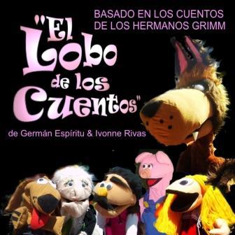 El Lobo de los cuentos. Títeres Garabatosos.