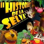 Historias de la Selva. Puppet doodles.