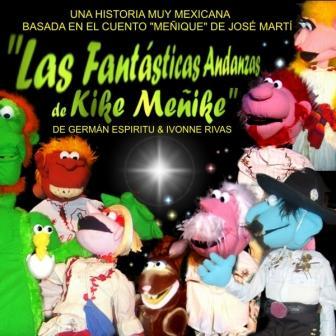 De fantastische avonturen van Kike Menik. Puppet krassend