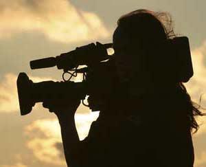 AMBULANCE voor het filmen