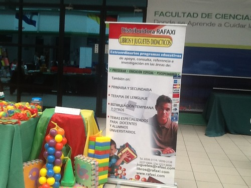 Exhibition of some of the teaching materials we distribute