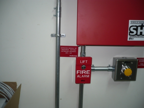 Fire Detection and Extinguishing Clean Agent