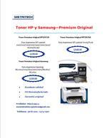 Samsung HP and Lexmark Toner