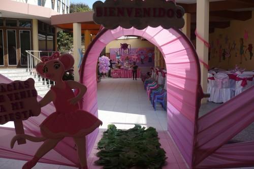 Fiesta Infantil DECORACION ANGELINA