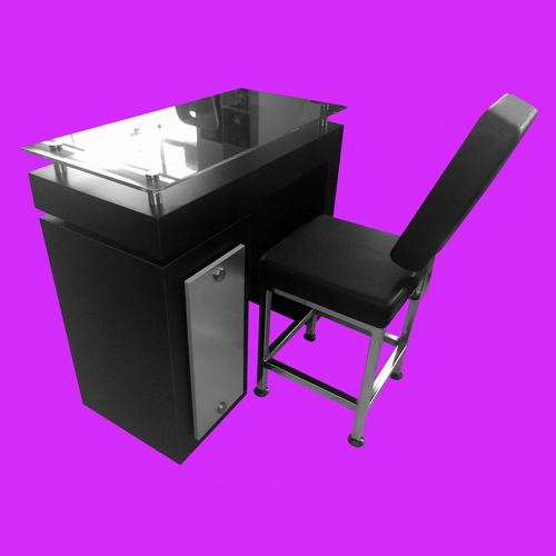 MANICURE TABLE MANICURE FUCSION COMFORT MINI CHAIRS