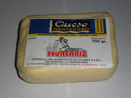 queso mantecoso 200g/350g/400g/700g/1kg