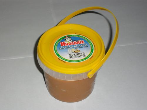 manjar blanco en balde 1/2 y 1kg
