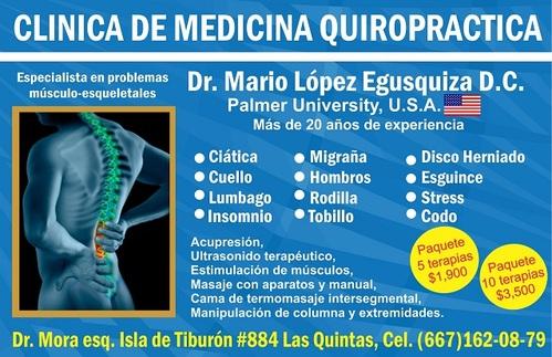 clinica de medicina quiropractica