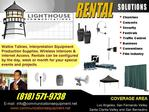interpretacion Equipment Rentals
