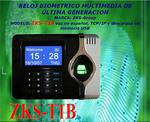 Attendance control fingerprint and proximity, TCP / IP, USB Dis