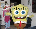 pink and SpongeBob