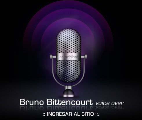 Bruno locutor profesional uruguayo